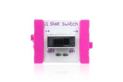 美國 littleBits 零件 (input): SLIDE SWITCH (8折出清)