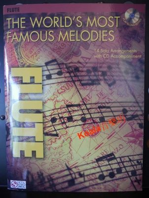 *【Koala音樂坊】 限時折扣《Flute》The World's Most Famous Melodies