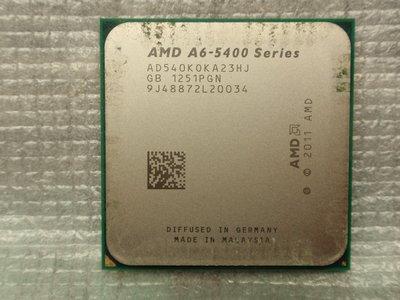 AMD A6-5400K  內建 HD 7540D 顯示晶片 , ,  3.6 GHz , 2核心 /   FM2 (904)腳 高雄市