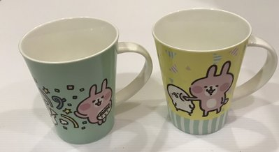 卡娜赫拉的小動物 馬克杯 陶瓷對杯 2入 370ML 聯電紀念品2F703