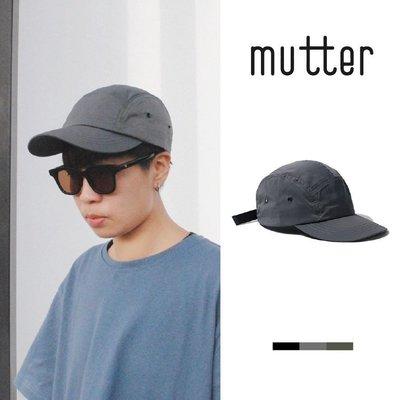 MUTTER|輕量尼龍 Outdoor 機能防潑水 美式街頭 五分割帽/老帽