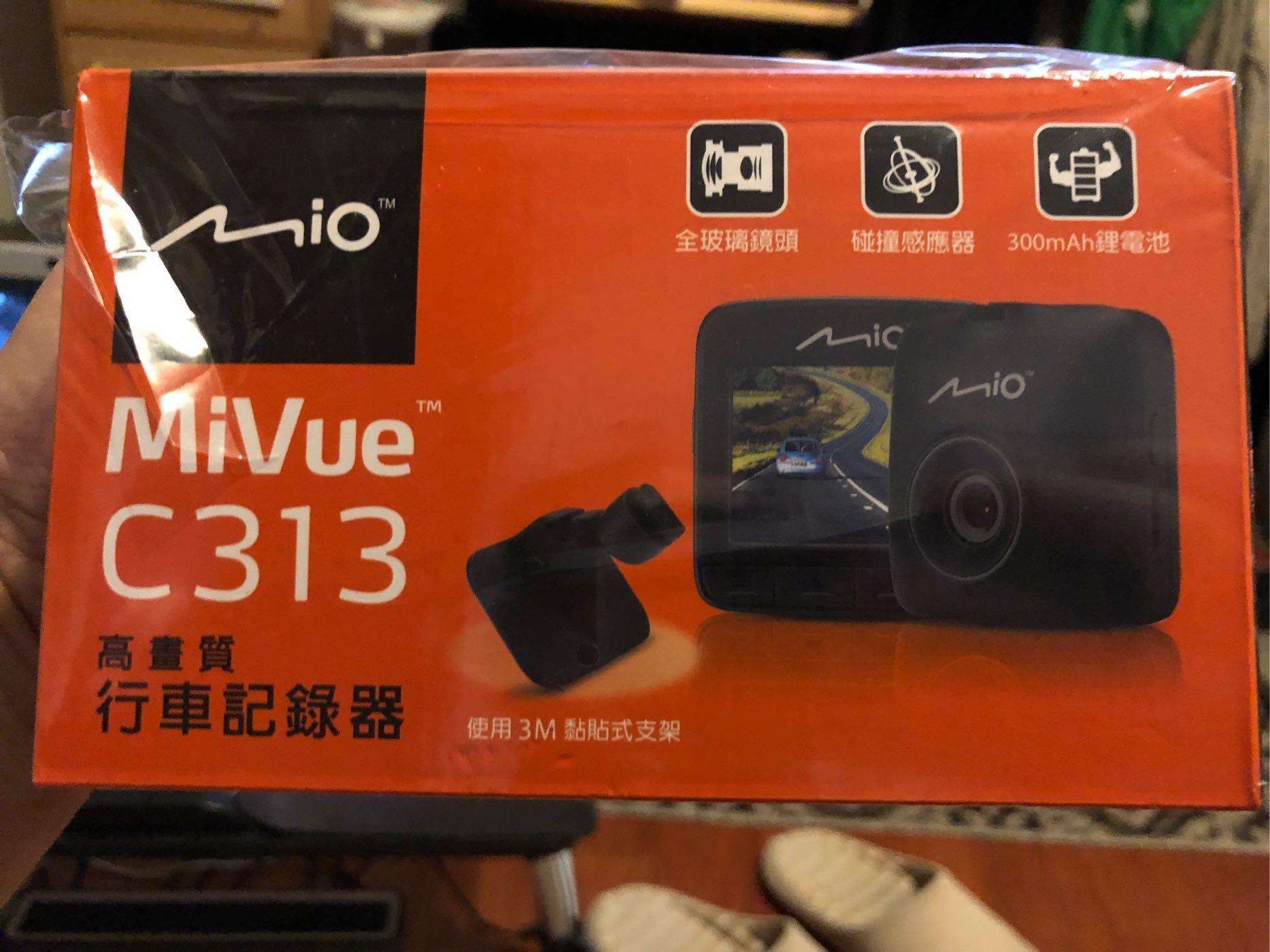 MIO MiVue™ C313 高畫質1080P行車記錄器