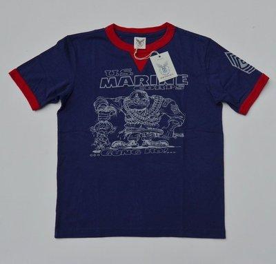 造夢師 獨家代理 BOB DONG 4色軍事題材 U.S.MARINE CORPS印花圖案 短袖T恤 MCCOY