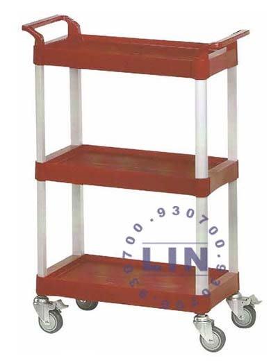 【品特優家具倉儲】R191-03工作車收納車餐車KT-168回收車