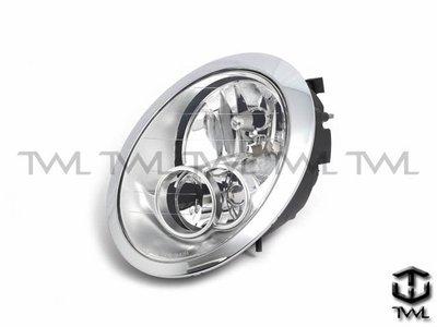 《※台灣之光※》全新MINI R53 R52 R50 COOPER S 04 05 06 07 08年原廠型晶鑽大燈頭燈