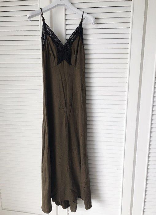日本新銳設計品牌 THEATRE PRODUCTS 咖啡色蕾絲細肩帶長褲裝