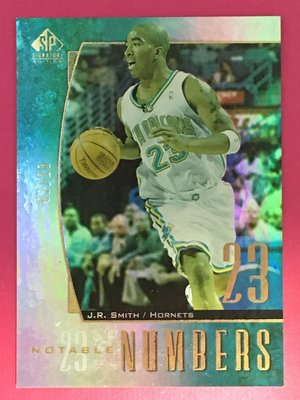 2005 SP Signature Edition Notable Numbers J. R. Smith 01/23
