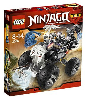 全新現貨 2506 LEGO Ninjago The Golden Weapons LegoSkull Truck