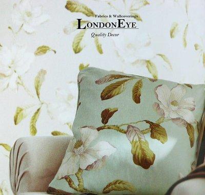 【LondonEYE】雪菲爾 • 經典英式鄉村風格X英國進口純棉傢飾布X 藝術SANDERSON風格訂製枕