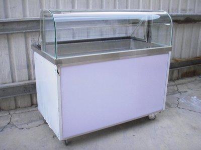 九成新            4尺1  滷味或炸類商品冷藏展示台