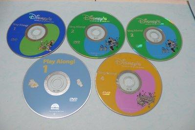 紫色小館75-2--------迪士尼英語[1.2[2片}.4]+Play Along{1}