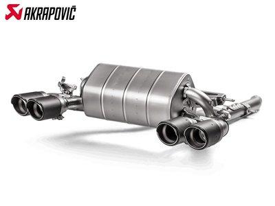 【樂駒】Akrapovic BMW M2 COMPETITION F87 Titanium 鈦合金 排氣管 尾段 輕量化