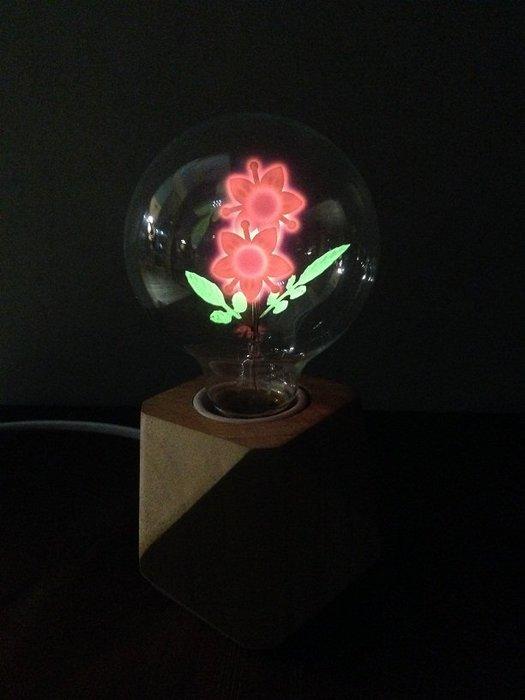 尼克卡樂斯 ~ 造型燈泡【太陽花款】工業風燈泡 鎢絲燈泡 造型燈泡