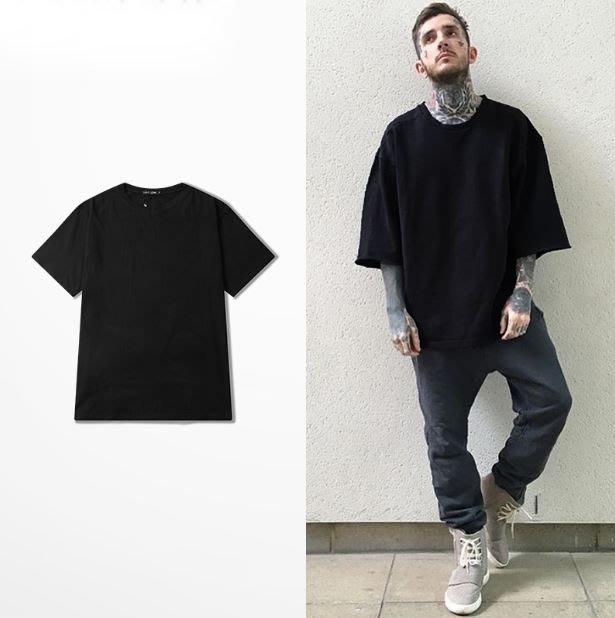 【NoComment】嘻哈街頭 百搭休閒 純棉寬版oversize素面上衣 七色 Uniqlo Nike