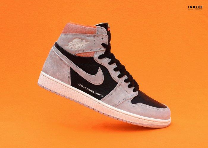 INDiCE ↗ Nike Air Jordan 1 Retro OG High 555088 018 仿舊灰/橘色