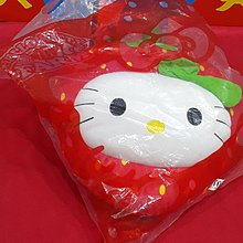 麥當勞 Hello kitty  甜蜜草莓抱枕