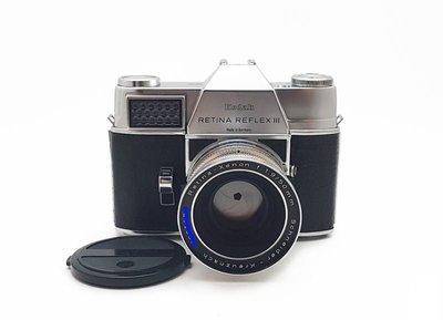 @佳鑫相機@(中古託售品)Kodak Retia Reflex III+50/1.9+200/4.8 套組 機械古董相機
