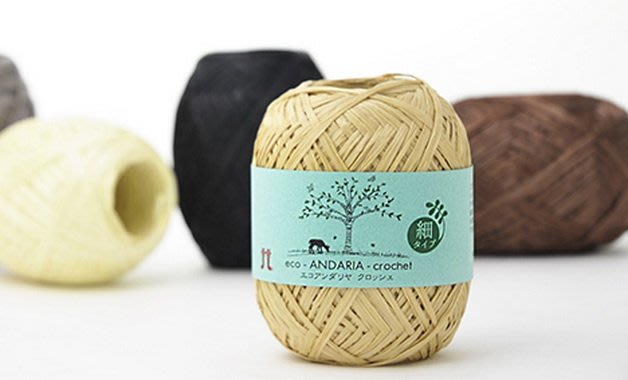 紙線HAMANAKA Andaria Crochet細(特訂款)~遮陽帽、包包~麻繩~手工藝材料、編織工具【彩暄手工坊】
