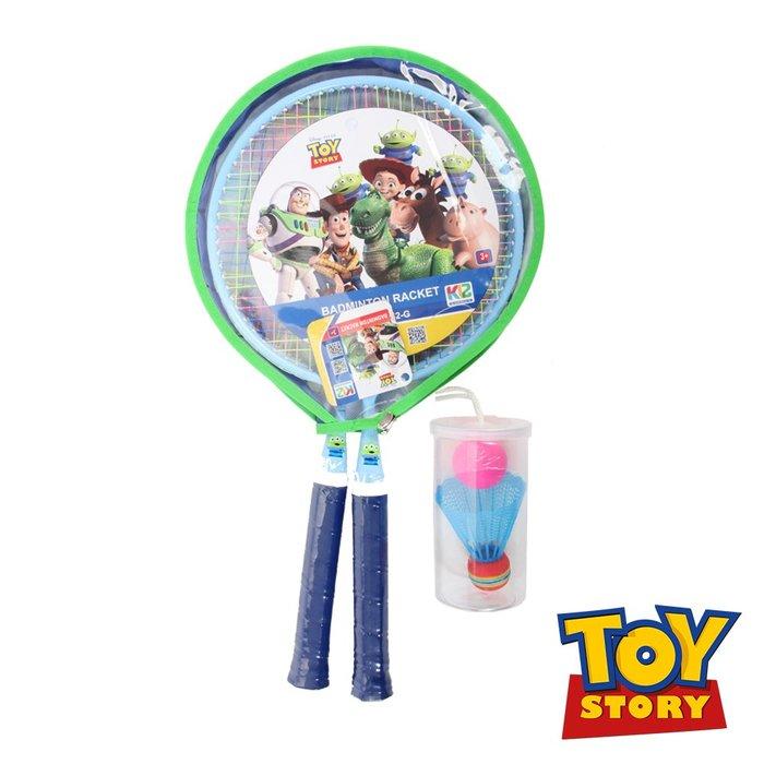 玩具總動員羽球對拍組(附拍套) DDA18652-G