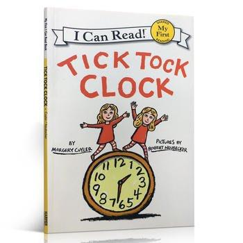 英文原版進口繪本 Tick Tock Clock My First I Can Read韻律感強 認知時間啟蒙Marge