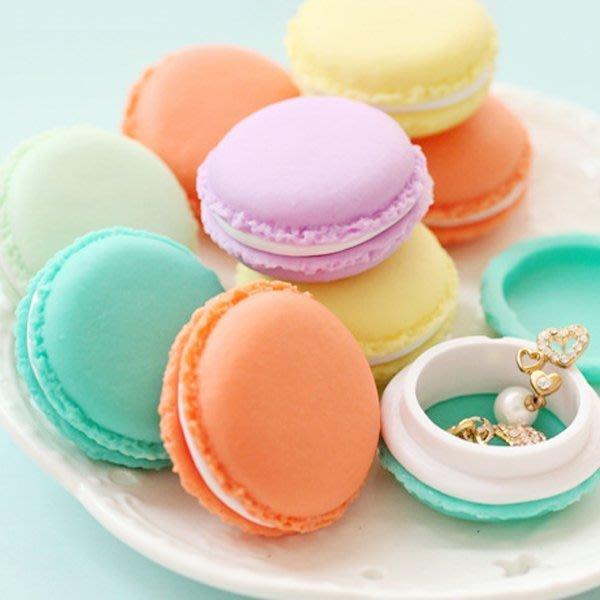 《Jami Honey》【JI0732】婚禮小物 法國甜點熊馬卡龍飾品小物迷你 收納盒『不挑款』