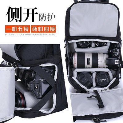 Flyleaf可拆卸拉桿雙肩攝影包多功能專業大容量單反相機男女背包