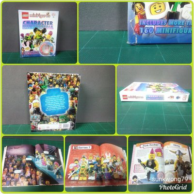 LEGO minifigures CHARACTER ENCYCLOPEDIA  品相如圖