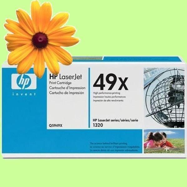 5Cgo【權宇】HP Q5949X 原廠黑色碳粉匣 適用LJ1320/LJ3390/LJ3392 另有Q5949A_