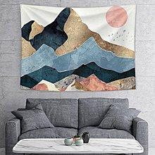 可開發票免運-抖音掛毯掛布背景布北歐風臥室房間宿舍床頭裝飾 恒行天下