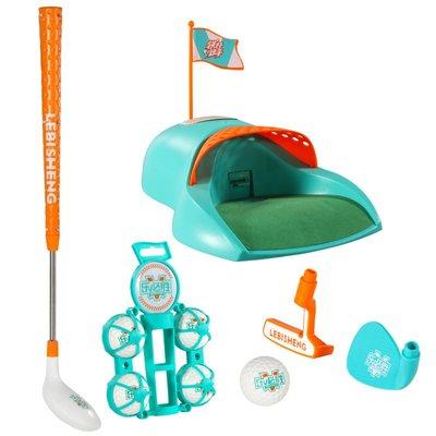 高爾夫球桿自動回球兒童高爾夫球桿套裝玩具親子運動玩具 幼兒園球類玩具3歲