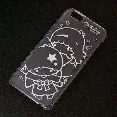 尼德斯Nydus~* 日本三麗鷗 Kiki Lala 雙子星 透明系列 手機殼 保護殼 iPhone6 4.7吋 經典款