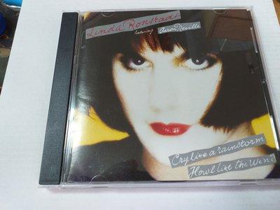 琳達朗絲黛Linda ronstadt  CRY LIKE A 專輯像風暴一樣的哭泣收DON'T KNOW MUCH日版