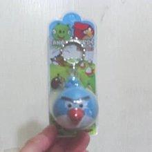 全新憤怒鳥angry birds-藍鳥鑰匙圈