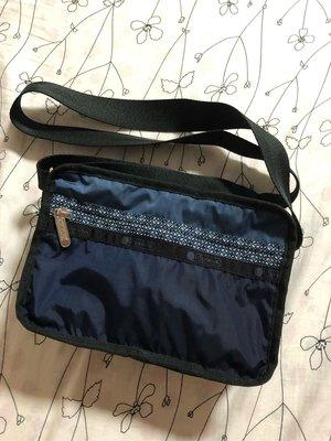 Lesportsac尼龍輕量側背包