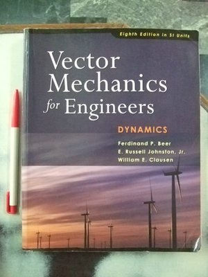 6980銤:A6☆2007年『Vector Mechanics for Engineers-DYNAMICS』 Beer著ISBN:9780071258753