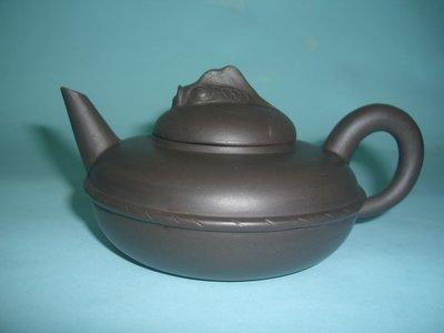 (三包)中國宜興早期一廠老技師霍菊華190CC魚樂紫砂壺(85年以前開茶行留下來的福)