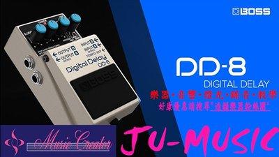 造韻樂器音響- JU-MUSIC - BOSS DD-8 DD8 Digital Delay 數位 延遲 效果器