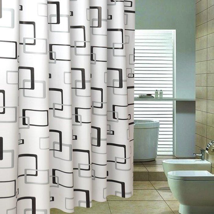 浴室防水不透浴簾 衛生間隔斷防潮掛簾廁所遮擋保溫門簾簾子