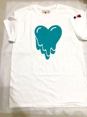 現貨【款款】Emotionally Unavailable Turquoise Heart Logo 陳冠希 現貨