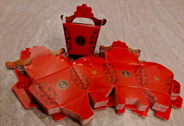 喜糖盒 糖果盒 婚禮小物 糖盒 包裝盒 - 方盒