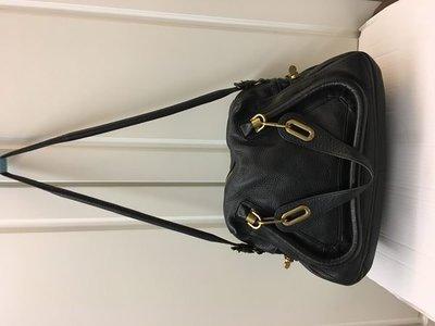 98%New Chloe 黑色真皮大容量手袋 100%real (4用)  (特價$6,900包郵,不退換)