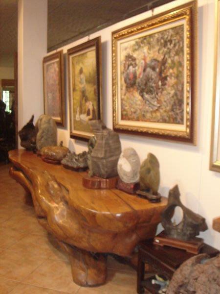 大型奇木桌長條形會議桌(332x76x85cm)泡茶桌~擺設