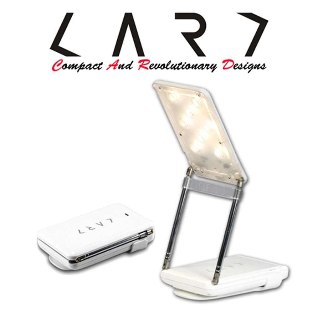 展銷福利品 【CARD】 CL2多功能旅行閱讀等級 照明檯燈+ 行動電源 攤販最愛-白色