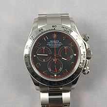 順利當舖 Rolex/勞力士  原裝新款116509型18K白金Daytona多功能計時自動男錶