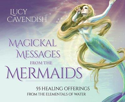 【預馨緣塔羅鋪】現貨正版美人魚神奇訊息Magickal Messages from the Mermaids(55張)