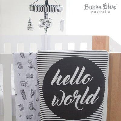 ♫♥Yo媽‧嚴選♥♫ 澳洲BubbaBlue 小小世界音樂床鈴 音樂鈴 床邊音樂鈴 布偶音樂鈴