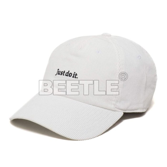 BEETLE NIKE LAB NRG H86 JDI JUST DO IT 老帽 白黑 小字 BV3032-100
