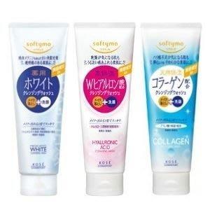 KOSE 高絲 肌白/玻尿酸/ 膠原蛋白 保濕卸妝潔顏乳 190g【小7美妝】