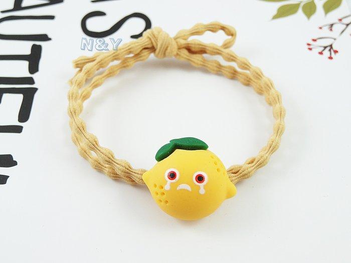 糖果色檸檬寶寶ins髮圈髮飾髮繩馬尾髮圈HA101多色☆【N&Y】【現貨】