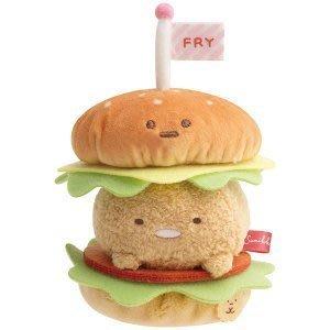 4165本通 SG 角落生物 豬排漢堡公仔 絨毛娃娃 4974413760805 下標前請詢問